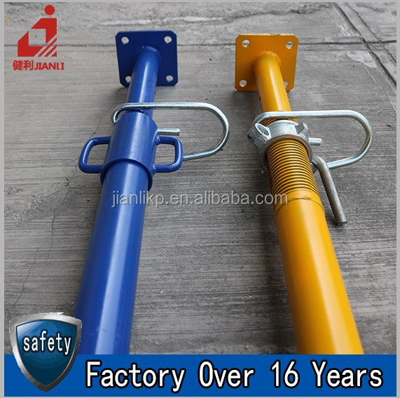 Wholesale Cheap Price Construction Scaffolding Steel Telescopic Pole For Building Support