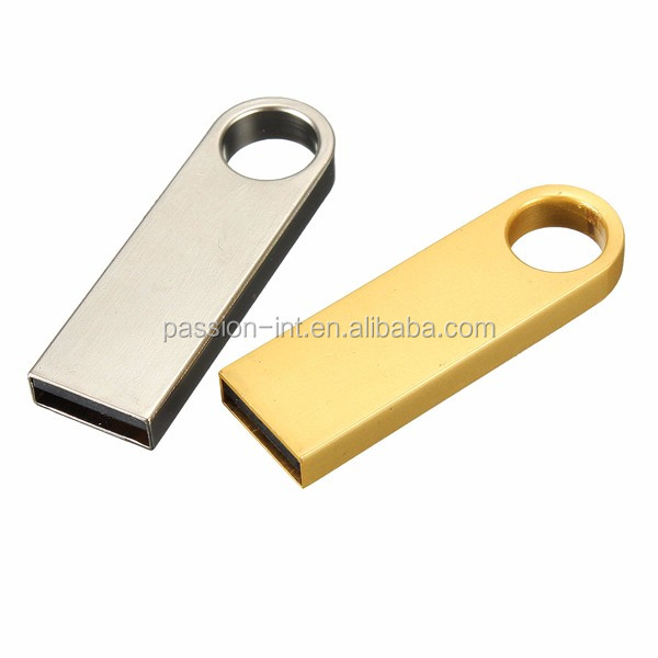Mini Keyring USB Flash Drive 4GB 8GB 16GB 32GB 64GB Waterproof Metal Key Pendant Pendrive Key chain 2.0 Stick Pen drive
