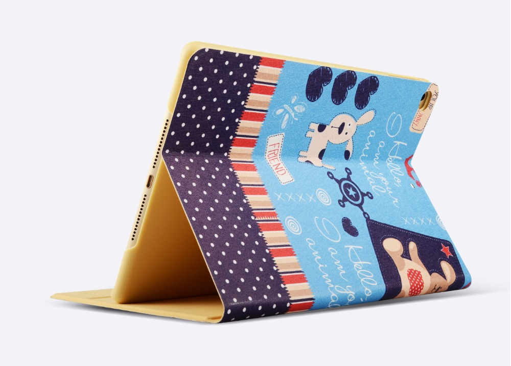 Nose Dog Painting Case for iPad Mini 1/2/3, for iPad 8 inch Case, for iPad Mini with Auto Sleep/Wake