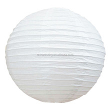 "14"" White Round Chinese Paper Lantern Light Lamp Shades Lampshade for sale"