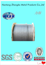 Motorcycle part of 6*12+7FC electro galvanized steel rope sale from China
