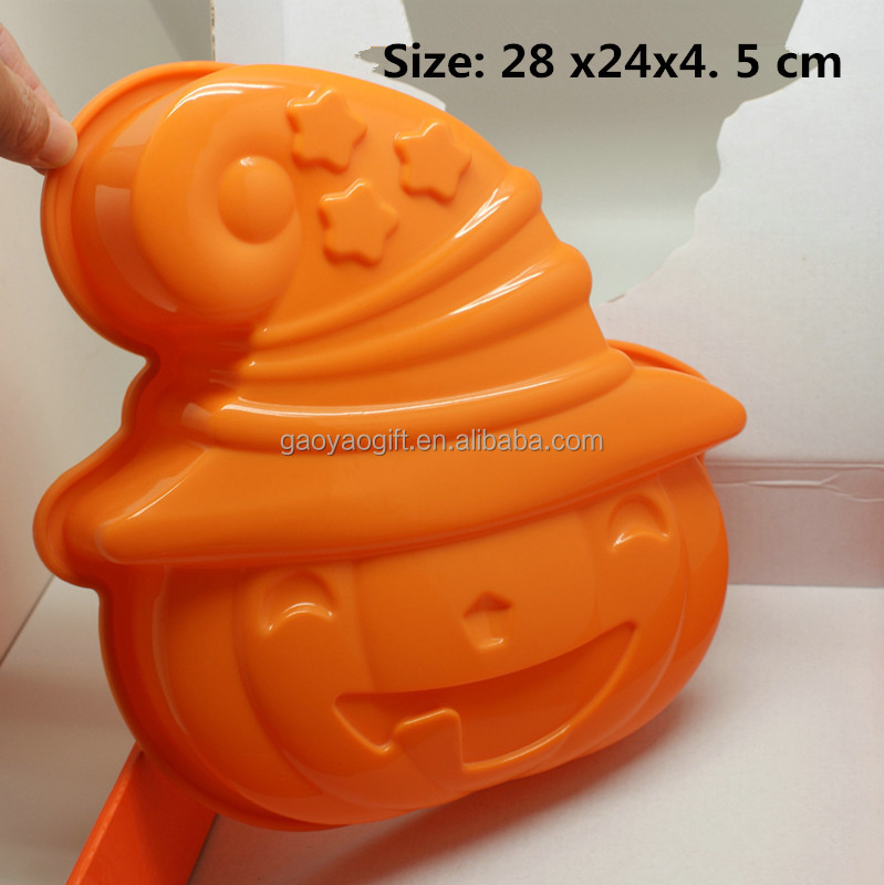 silicone Halloween gift cake mould halloween gift mould for cake