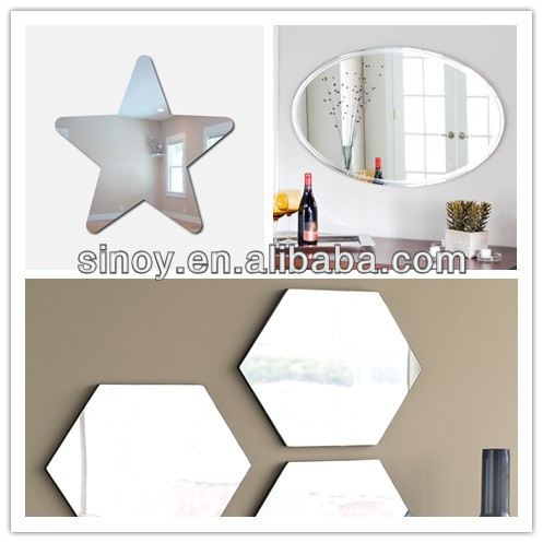 Custom size and shape of star shaped mirror wall decor large decorative mirrors decorative sun shaped wall mirror