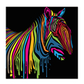 HD Animal Picture Photo Printing Watercolor Zebra Painting Prints Abstract Canvas Wall Art Home Decorative Canvas Art