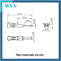 Male and Female Wire Connector Terminal 0.3mm Pitch 1-968050-1
