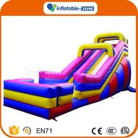 Hot Selling class simple inflatable kids water slide hot sale air inflatable slide toys