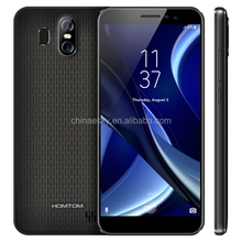 "New Homtom S16 5.5"" display android7.0 smart phone 3000mAh 2GB+16GB MT6580 quad core 13MP fingerprint 18:9 edge-less cellphone"