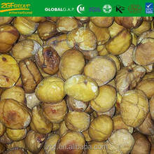 iqf frozen roasted peeling chestnut from China