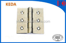 Stainless steel 316 spring hinges with back plate for glass pool fencing Australia standard