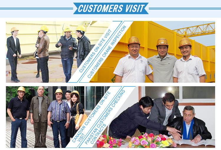 Экспорт в Высокая Производительность Двухбалочный Козловой Кран 20 тонн из Китая Производитель HCCG