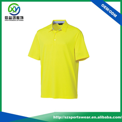 2016 high quality combed cotton fabric golf shirt with embroidery logo design
