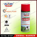 Harmless Colorful Animal Markers Spray Marking Paint