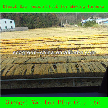 Raw Material Round Bamboo Stick Supplier Of Agarbatti