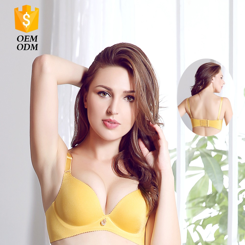 Hot Sale Top Quality Low Price Professional Sexy Fancy Wholesale Seamless Strapless Skin Color Bra Attractive
