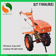 Heavy duty rotary tiller cultivator/Mini Tractor and Walking Price