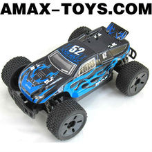 ro-147543B huanqi Emulational high speed remote control off-road monster truck with shock absorbers (blue version)