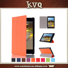 In stock 10 Inch Foldable Stand PU Leather Flip Case for Kindle Fire HD10