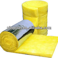 Heat Insulation Glass Wool With Aluminium