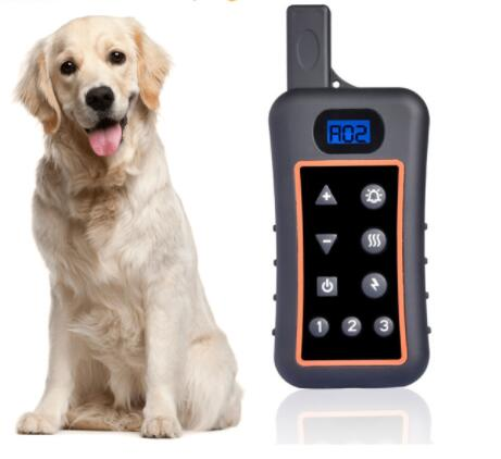 2017 High Quality Rechargeable and Waterproof 1200 m Remote Dog Shock Collar Pets Training collar with LCD Display