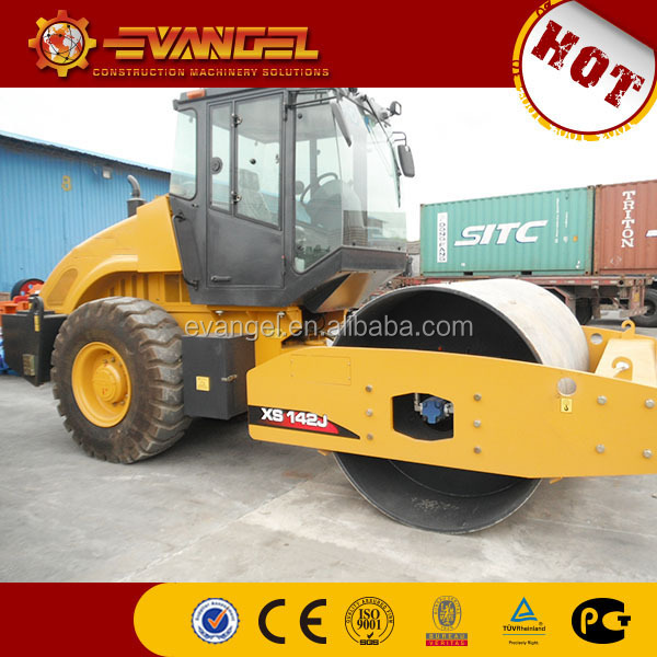 New price roller compactor 14 ton vibratory road roller XS143J