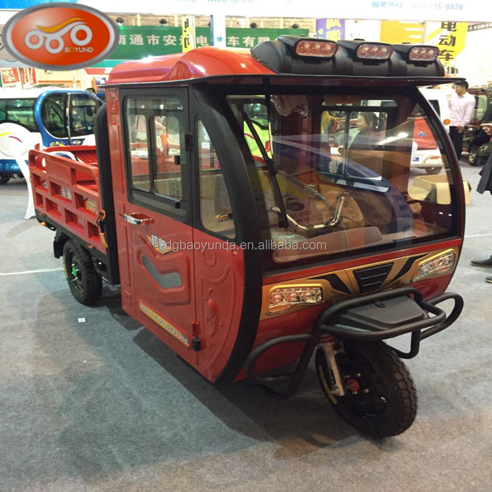 2017 adults cheap cargo 3 wheels electric tricycle tuk tuk rickshaw for sale