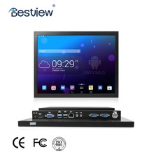 "YT15PC Industrial fanless 15"" touch screen panel android tablet pc with CE FCC ISO9001"