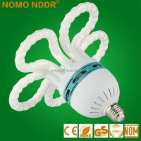 2015 factory price CFL Hot Sell Flower Shape 85W Energy Saving Lamp light