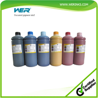 Hot sale WER-China uncoated pigment ink for plastic printing