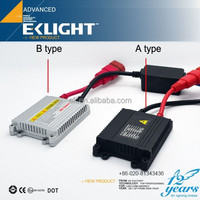 EK LIGHT Smart System AC 35W Slim HID Conversion Kit,Bi HID xenon kit H4,h1 h2 xenon bulb