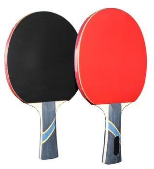 5 Star Professional PingPong Paddle Advanced Training Table Tennis Racket with Carry Case (2PCS)