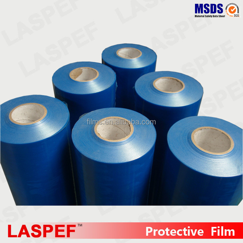 Hot sale ldpe protection film,hindi blue protective film