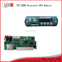 hot sale USB SD CARD MP3 amplifier and bluetooth module
