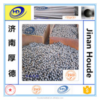 low price high hardness 60-60 HRC hardened forged steel balls for ball mill or for machine 20mm to 150mm