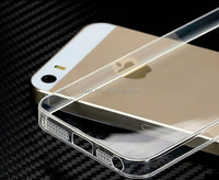 Soft Super Ultra-thin Clear TPU Case for Apple for iPhone 5 5S Back Cover Protect Skin Silicon