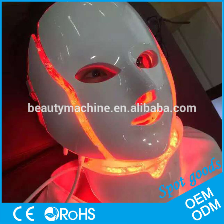 2017 Top selling PDT led facial mask,red purple blue led mask, led light therapy mask for skin rejuvenation