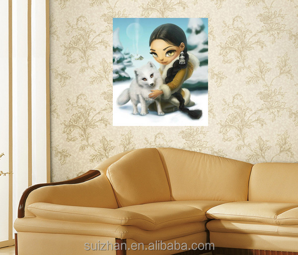 Abstract 5d DIY Diamond Painting Animal Sexy Movie With Women Cross Stitch For Home Decor