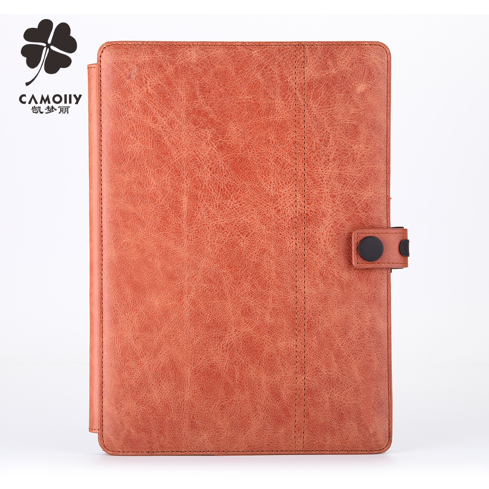 Luxury Top Quality 360 Degree Genuine Leather Case For Ipad Mini