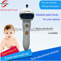 2015 new product story teller/ Children smart multi-languages pen/ Kid's reading pen with audio book