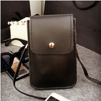 Wholesale Colorful OEM Lady Wallet WomenPacket Mobile Phone PU Shoulder Leather Bags