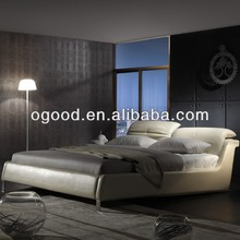 Sweet dreams 2013 leather bed design furniture AY269