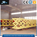 Safety and durable manual hydraulic cargo lift platform