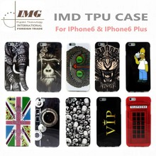 Alibaba express IMD Soft TPU cover for iphone 6 , colorful patterns for iphone 6 case china supplier