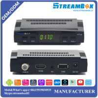Freesat V7 DVB S2 Satellite Receiver V7 set top tv box support wifi dongle free sat V7 HD dvb-s2 satellite box
