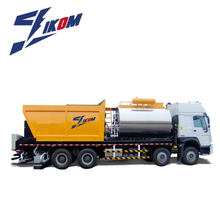 asphalt synchronous chip sealer, distribute bitumen and aggregate at the same time