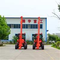 Ground Screw PD4000 Pile Driver Ground Hole Drilling Machine For sale