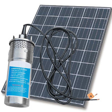 YM2460-30 24V Deep Well Submersible Pump With Solar Panel Kits For Irrigation Systems
