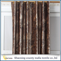 Home decor supplier 2015 new Modern Blackout 3d curtains