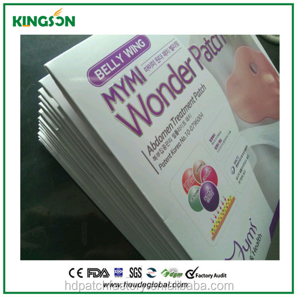 High Quality Mymi Wonder Patch,Korea Slimming Patch slim belly price