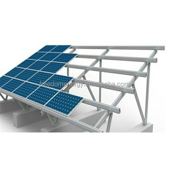 Normal Specification <strong>Solar</strong> Panel Structure, 10KW Ground Mounting <strong>Solar</strong> Panel Bracket