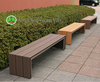 public park outdoor woodworking long wooden bench for sale